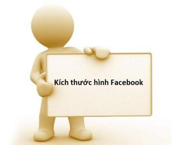Kích thước hình Facebook